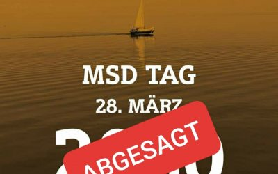 Absage MSD TAG – 28. März